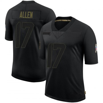 Youth Nike Buffalo Bills Josh Allen Black 2020 Salute To Service Jersey - Limited