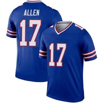 Youth Nike Buffalo Bills Josh Allen Royal Inverted Jersey - Legend