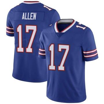 Youth Nike Buffalo Bills Josh Allen Royal Team Color Vapor Untouchable Jersey - Limited