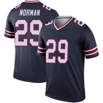 Youth Nike Buffalo Bills Josh Norman Navy Inverted Jersey - Legend