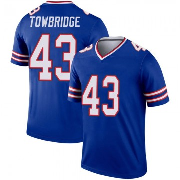 Youth Nike Buffalo Bills Keith Towbridge Royal Inverted Jersey - Legend