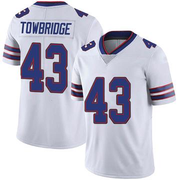 Youth Nike Buffalo Bills Keith Towbridge White Color Rush Vapor Untouchable Jersey - Limited