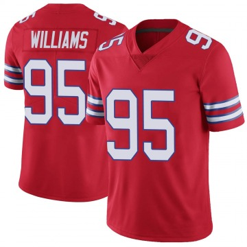 Youth Nike Buffalo Bills Kyle Williams Red Color Rush Vapor Untouchable Jersey - Limited