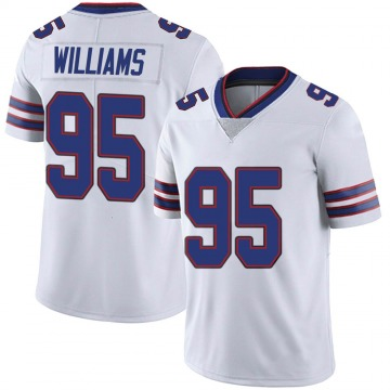 Youth Nike Buffalo Bills Kyle Williams White Color Rush Vapor Untouchable Jersey - Limited
