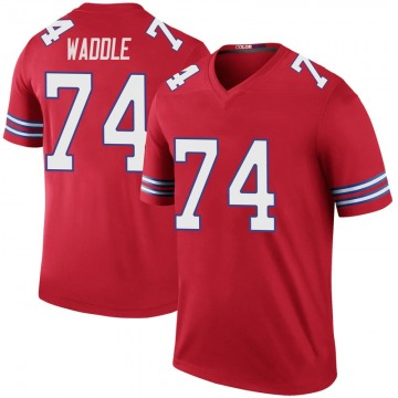 Youth Nike Buffalo Bills LaAdrian Waddle Red Color Rush Jersey - Legend