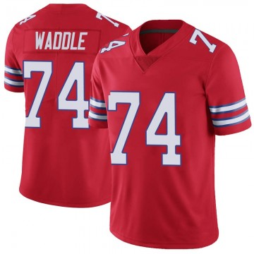 Youth Nike Buffalo Bills LaAdrian Waddle Red Color Rush Vapor Untouchable Jersey - Limited