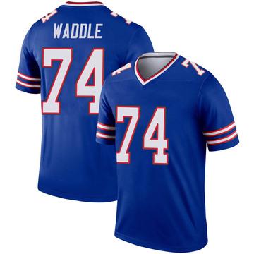Youth Nike Buffalo Bills LaAdrian Waddle Royal Inverted Jersey - Legend