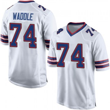 Youth Nike Buffalo Bills LaAdrian Waddle White Jersey - Game