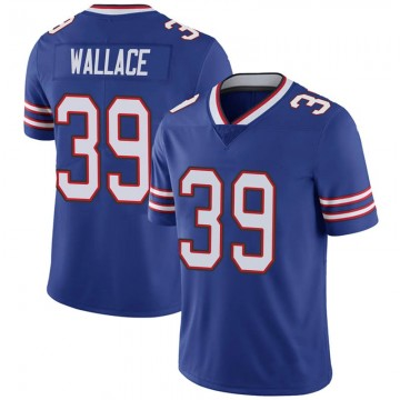 Youth Nike Buffalo Bills Levi Wallace Royal 100th Vapor Jersey - Limited