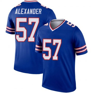 Youth Nike Buffalo Bills Lorenzo Alexander Royal Jersey - Legend