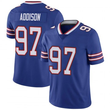Youth Nike Buffalo Bills Mario Addison Royal Team Color Vapor Untouchable Jersey - Limited
