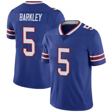 Youth Nike Buffalo Bills Matt Barkley Royal 100th Vapor Jersey - Limited