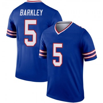 Youth Nike Buffalo Bills Matt Barkley Royal Inverted Jersey - Legend