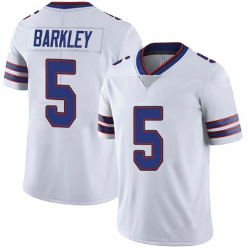 Youth Nike Buffalo Bills Matt Barkley White Color Rush Vapor Untouchable Jersey - Limited