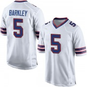 Youth Nike Buffalo Bills Matt Barkley White Jersey - Game