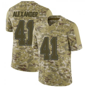 Youth Nike Buffalo Bills Maurice Alexander Camo 2018 Salute to Service Jersey - Limited