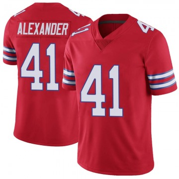 Youth Nike Buffalo Bills Maurice Alexander Red Color Rush Vapor Untouchable Jersey - Limited