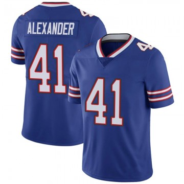 Youth Nike Buffalo Bills Maurice Alexander Royal 100th Vapor Jersey - Limited