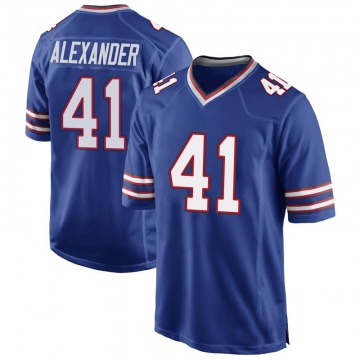 Youth Nike Buffalo Bills Maurice Alexander Royal Blue Team Color Jersey - Game