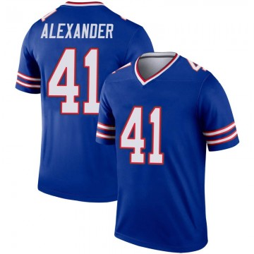 Youth Nike Buffalo Bills Maurice Alexander Royal Inverted Jersey - Legend