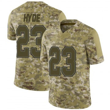 Youth Nike Buffalo Bills Micah Hyde Camo 2018 Salute to Service Jersey - Limited