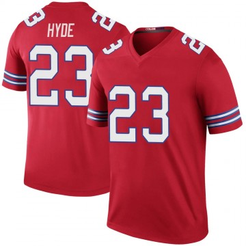 Youth Nike Buffalo Bills Micah Hyde Red Color Rush Jersey - Legend