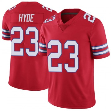 Youth Nike Buffalo Bills Micah Hyde Red Color Rush Vapor Untouchable Jersey - Limited