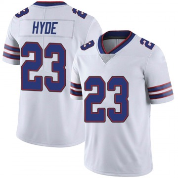 Youth Nike Buffalo Bills Micah Hyde White Color Rush Vapor Untouchable Jersey - Limited