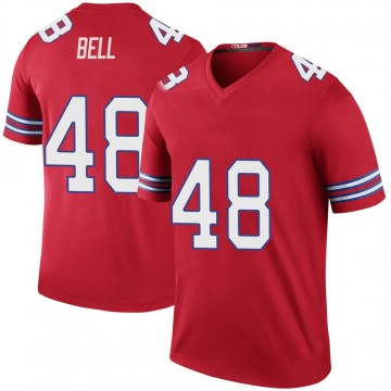 Youth Nike Buffalo Bills Mike Bell Red Color Rush Jersey - Legend