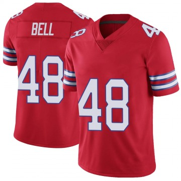 Youth Nike Buffalo Bills Mike Bell Red Color Rush Vapor Untouchable Jersey - Limited