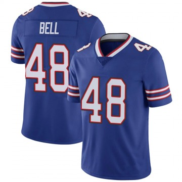 Youth Nike Buffalo Bills Mike Bell Royal 100th Vapor Jersey - Limited