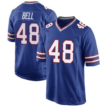 Youth Nike Buffalo Bills Mike Bell Royal Blue Team Color Jersey - Game