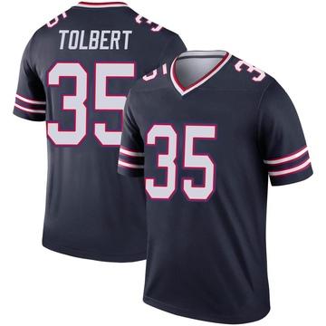 Youth Nike Buffalo Bills Mike Tolbert Navy Inverted Jersey - Legend