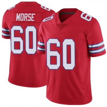 Youth Nike Buffalo Bills Mitch Morse Red Color Rush Vapor Untouchable Jersey - Limited