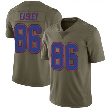Youth Nike Buffalo Bills Nick Easley Green 2017 Salute to Service Jersey - Limited