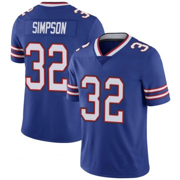 Youth Nike Buffalo Bills O. J. Simpson Royal 100th Vapor Jersey - Limited