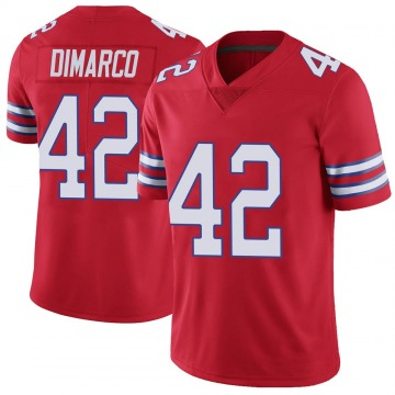 Youth Nike Buffalo Bills Patrick DiMarco Red Color Rush Vapor Untouchable Jersey - Limited