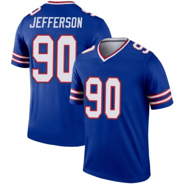Youth Nike Buffalo Bills Quinton Jefferson Royal Jersey - Legend