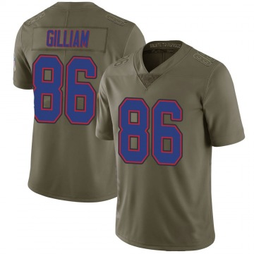 Youth Nike Buffalo Bills Reggie Gilliam Green 2017 Salute to Service Jersey - Limited