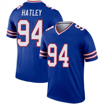 Youth Nike Buffalo Bills Rickey Hatley Royal Inverted Jersey - Legend