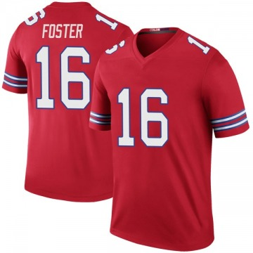 Youth Nike Buffalo Bills Robert Foster Red Color Rush Jersey - Legend