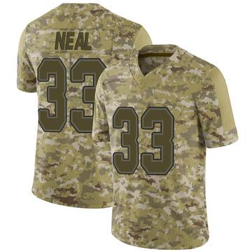 Youth Nike Buffalo Bills Siran Neal Camo 2018 Salute to Service Jersey - Limited
