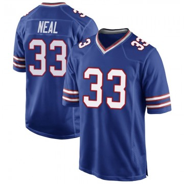 Youth Nike Buffalo Bills Siran Neal Royal Blue Team Color Jersey - Game