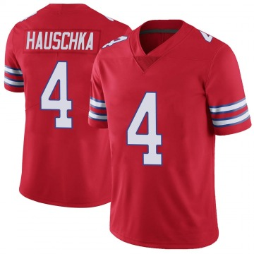Youth Nike Buffalo Bills Stephen Hauschka Red Color Rush Vapor Untouchable Jersey - Limited