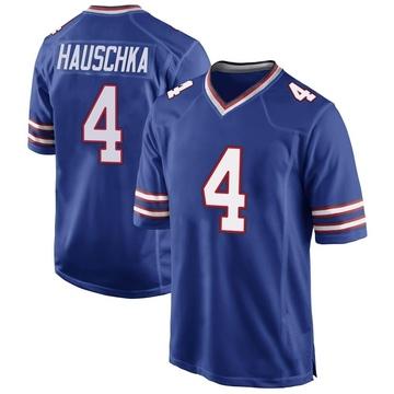 Youth Nike Buffalo Bills Stephen Hauschka Royal Blue Team Color Jersey - Game