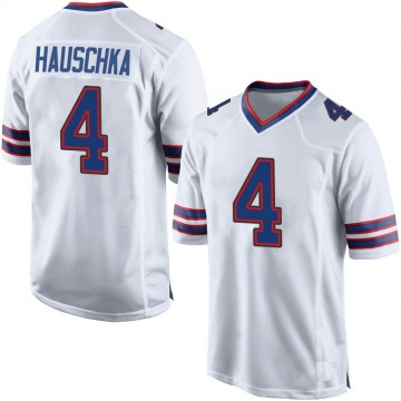 Youth Nike Buffalo Bills Stephen Hauschka White Jersey - Game