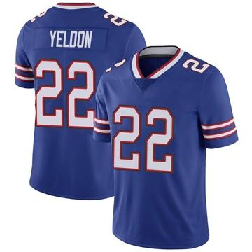 Youth Nike Buffalo Bills T.J. Yeldon Royal Team Color Vapor Untouchable Jersey - Limited