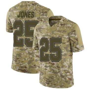 Youth Nike Buffalo Bills Taiwan Jones Camo 2018 Salute to Service Jersey - Limited