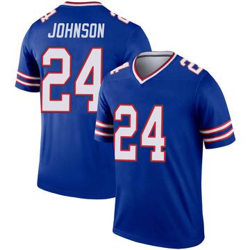 Youth Nike Buffalo Bills Taron Johnson Royal Inverted Jersey - Legend