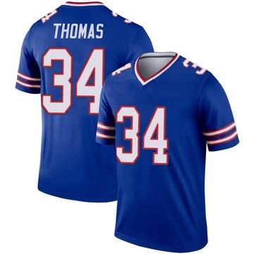 Youth Nike Buffalo Bills Thurman Thomas Royal Jersey - Legend